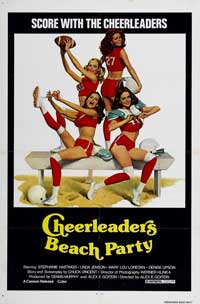 Cheerleaders Beach Party - 11 x 17 Movie Poster - Style A