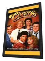 Cheers - 11 x 17 TV Poster - Style A - in Deluxe Wood Frame
