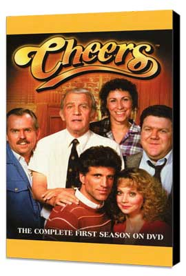 Cheers - 11 x 17 TV Poster - Style A - Museum Wrapped Canvas