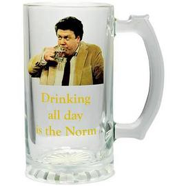 Cheers - Drinking All Day is the Norm Glass Stein