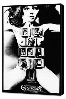 Chelsea Girls - 27 x 40 Movie Poster - Foreign - Style A - Museum Wrapped Canvas