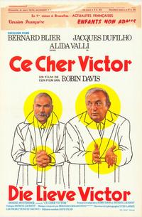 Cher Victor - 11 x 17 Movie Poster - Belgian Style A