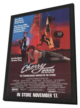 Cherry 2000 - 11 x 17 Movie Poster - Style A - in Deluxe Wood Frame