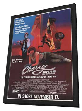 Cherry 2000 - 27 x 40 Movie Poster - Style A - in Deluxe Wood Frame