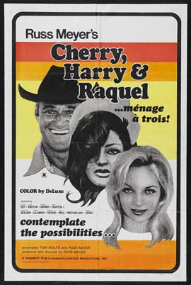 Cherry, Harry and Raquel! - 11 x 17 Movie Poster - Style B