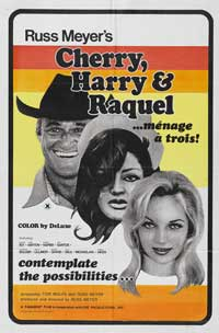 Cherry, Harry & Raquel! - 43 x 62 Movie Poster - Bus Shelter Style A