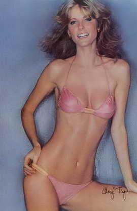 Cheryl Tiegs - 11 x 17 Movie Poster - Style A