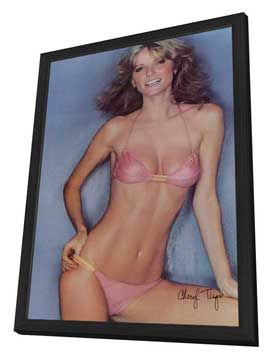 Cheryl Tiegs - 11 x 17 Movie Poster - Style A - in Deluxe Wood Frame
