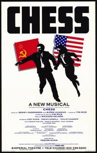 Chess (Broadway) - 27 x 40 Movie Poster - Style A