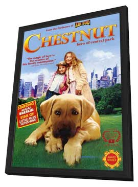 Chestnut: Hero of Central Park - 11 x 17 Movie Poster - Style A - in Deluxe Wood Frame