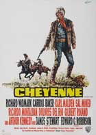 Cheyenne Autumn - 27 x 40 Movie Poster - German Style A