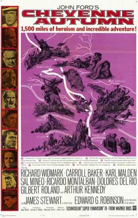 Cheyenne Autumn - 11 x 17 Movie Poster - Style A