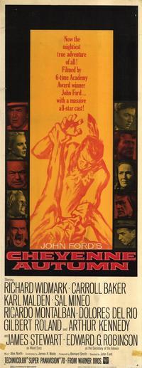 Cheyenne Autumn - 14 x 36 Movie Poster - Insert Style A