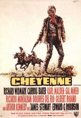 Cheyenne Autumn - 11 x 17 Movie Poster - German Style A