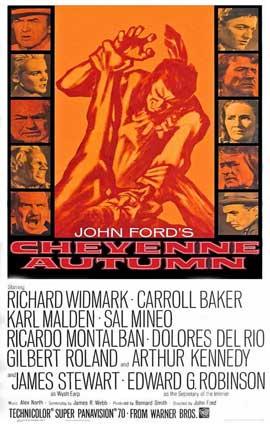 Cheyenne Autumn - 11 x 17 Movie Poster - Style B
