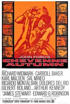 Cheyenne Autumn - 27 x 40 Movie Poster - Style B