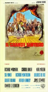 Cheyenne Autumn - 27 x 40 Movie Poster - Italian Style B