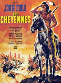 Cheyenne Autumn - 11 x 17 Movie Poster - French Style B