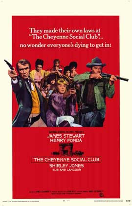 The Cheyenne Social Club - 11 x 17 Movie Poster - Style A