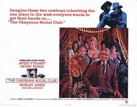 The Cheyenne Social Club - 11 x 14 Movie Poster - Style C