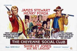 The Cheyenne Social Club - 11 x 17 Movie Poster - Belgian Style A