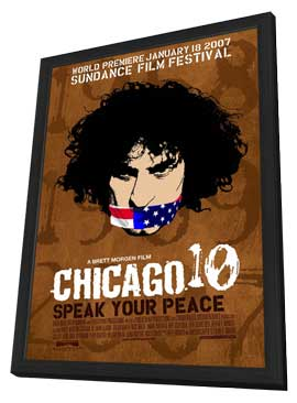 Chicago 10 - 11 x 17 Movie Poster - Style B - in Deluxe Wood Frame
