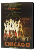 Chicago (Broadway) - 14 x 22 Poster - Style A - Museum Wrapped Canvas