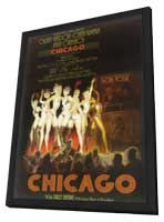 Chicago (Broadway) - 14 x 22 Poster - Style A - in Deluxe Wood Frame