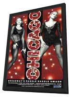 Chicago (Broadway) - 11 x 17 Poster - Style A - in Deluxe Wood Frame