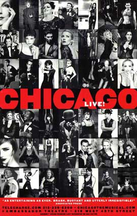 Chicago (Broadway) - 11 x 17 Poster - Style B
