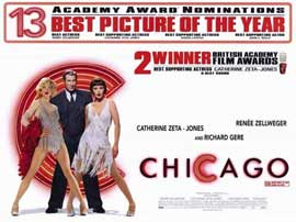 Chicago - 11 x 17 Movie Poster - Style F