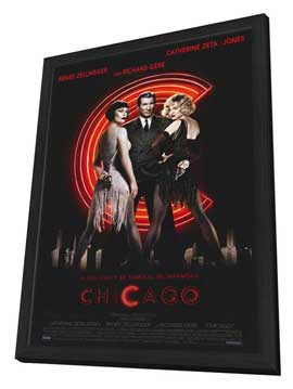 Chicago - 11 x 17 Movie Poster - Style A - in Deluxe Wood Frame