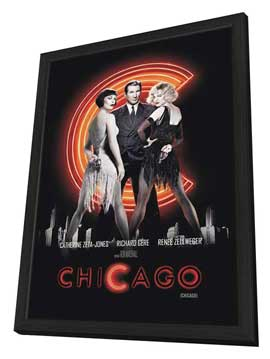 Chicago - 11 x 17 Movie Poster - Argentine Style A - in Deluxe Wood Frame