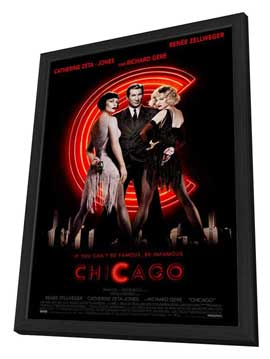 Chicago - 27 x 40 Movie Poster - Style A - in Deluxe Wood Frame