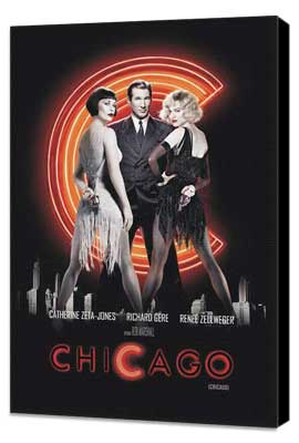 Chicago - 11 x 17 Movie Poster - Argentine Style A - Museum Wrapped Canvas