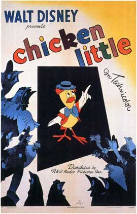 Chicken Little - 11 x 17 Movie Poster - Style A