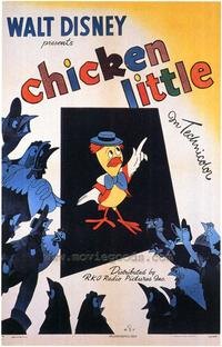 Chicken Little - 43 x 62 Movie Poster - Bus Shelter Style A