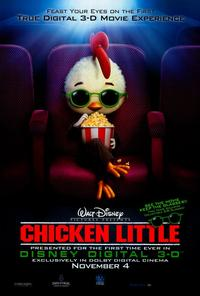 Chicken Little - 27 x 40 Movie Poster - Style B