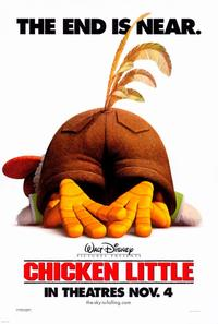 Chicken Little - 27 x 40 Movie Poster - Style C