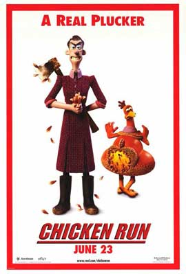 Chicken Run - 11 x 17 Movie Poster - Style B
