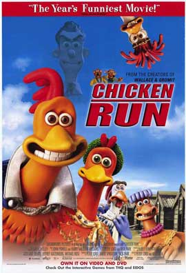 Chicken Run - 11 x 17 Movie Poster - Style F