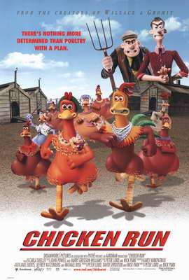Chicken Run - 27 x 40 Movie Poster - Style A