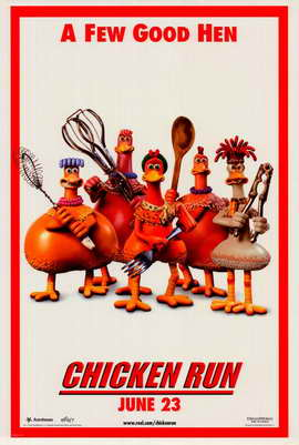 Chicken Run - 11 x 17 Movie Poster - Style I