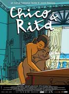 Chico & Rita - 11 x 17 Movie Poster - French Style A
