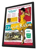 Chico & Rita - 27 x 40 Movie Poster - Style A - in Deluxe Wood Frame