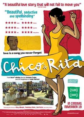 Chico & Rita - 27 x 40 Movie Poster - Style A