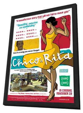 Chico & Rita - 11 x 17 Movie Poster - Style A - in Deluxe Wood Frame