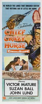 Chief Crazy Horse - 14 x 36 Movie Poster - Insert Style A