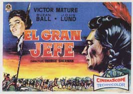Chief Crazy Horse - 11 x 17 Movie Poster - Spanish Style A