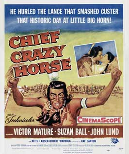 Chief Crazy Horse - 11 x 17 Movie Poster - Style A